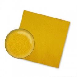 Салфетки Желтые    24*24,  1 сл, 400 л, 1/4 сл.