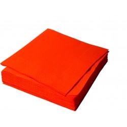 Салфетки столовые Красные    33*33  1 сл.