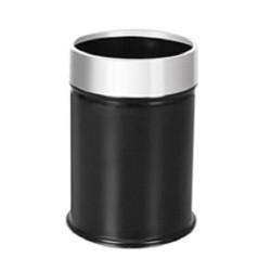 Ведро для мусора офисное сталь+пластик