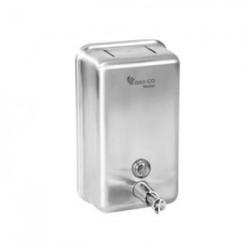 Дозатор для жидкого мыла 1080М   1000 мл.  сталь матовый