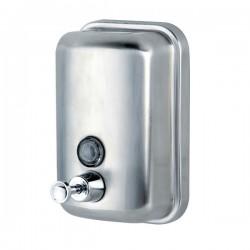 Дозатор 1000 мл.  для жидкого мыла сталь матовый