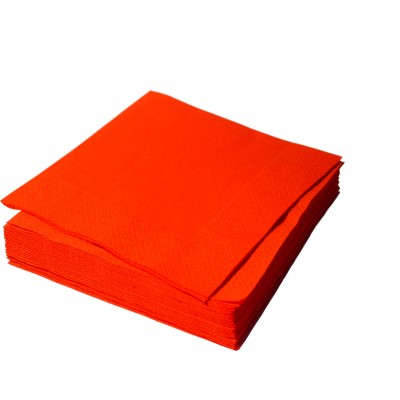 Салфетки столовые Красные    33*33  2 сл.