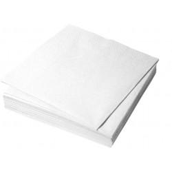 Салфетки столовые Белые  33*33 1 сл.