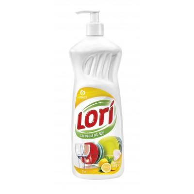 """Средство для мытья посуды """"Lori"""" лимон (1000 мл)"""
