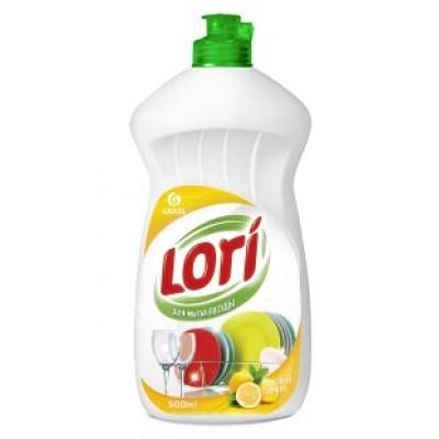 """Средство для мытья посуды """"Lori"""" лимон (500 мл)"""