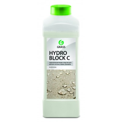 "Гидрофобизирующее средство  ""Hydro block C"" (канистра 1 л)"