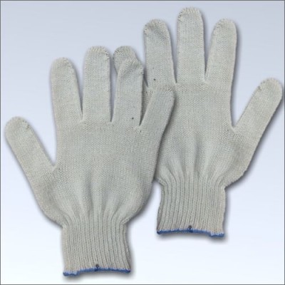 Перчатки ХБ  без ПВХ 5 нитей 7,5 класс