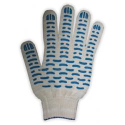Перчатки ХБ  с ПВХ 5 нитей 10 класс