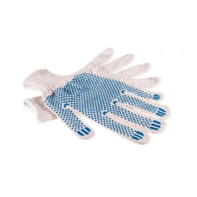 Перчатки ХБ  с ПВХ 5 нитей 7,5 класс