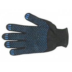 Перчатки ХБ  с ПВХ 6 нитей 7,5 класс