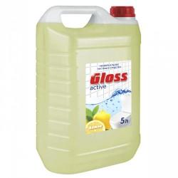 Gloss active Лимон. КАНИСТРА 5 л